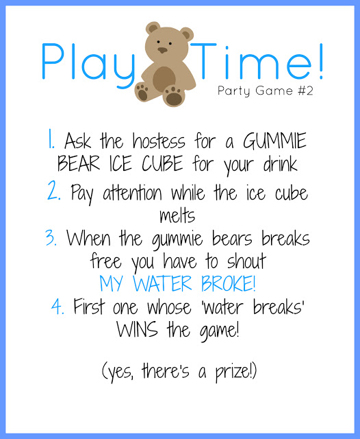 Free Baby Shower Games Printouts 5