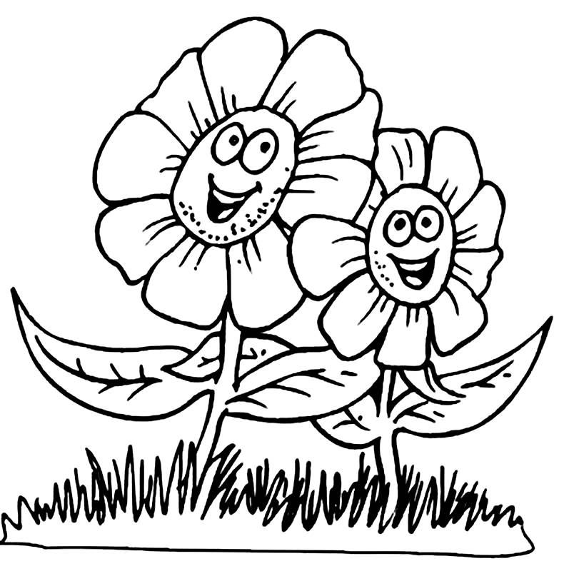 Spring Coloring Pictures 3