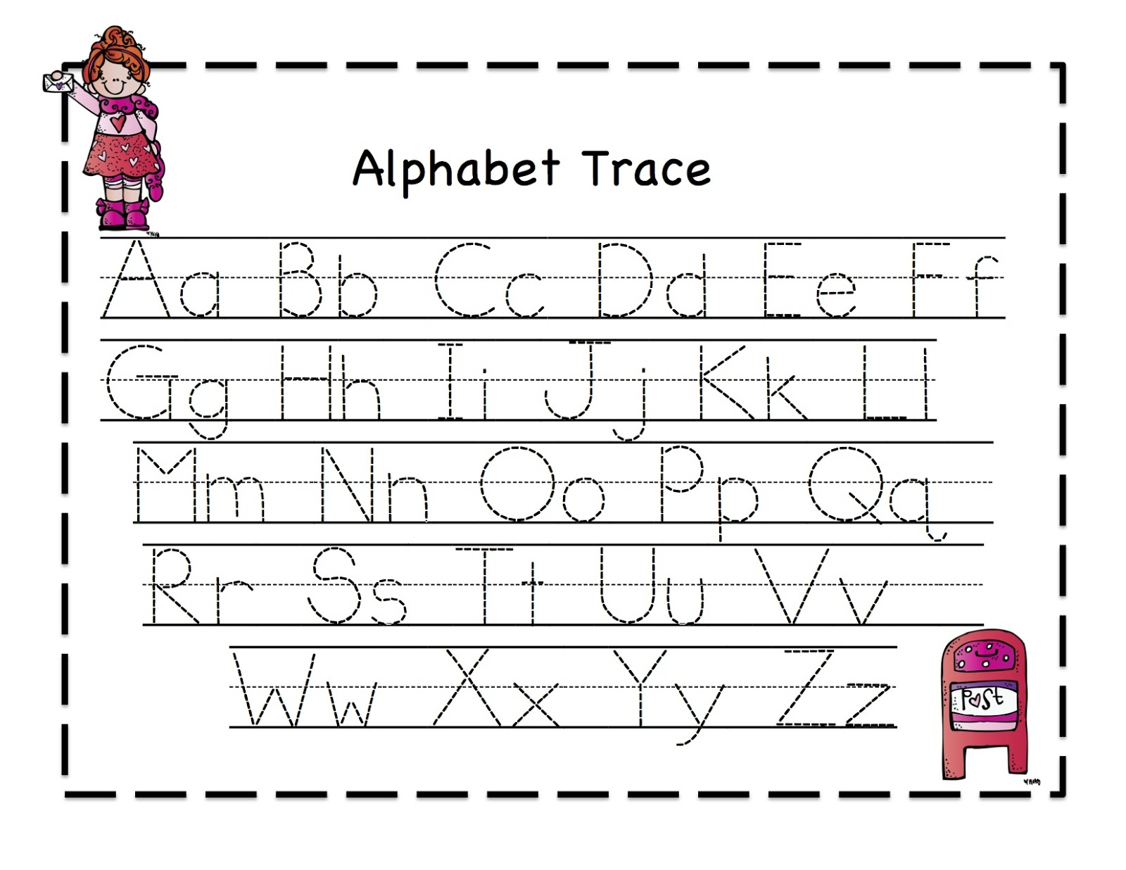 abc tracing sheets 2