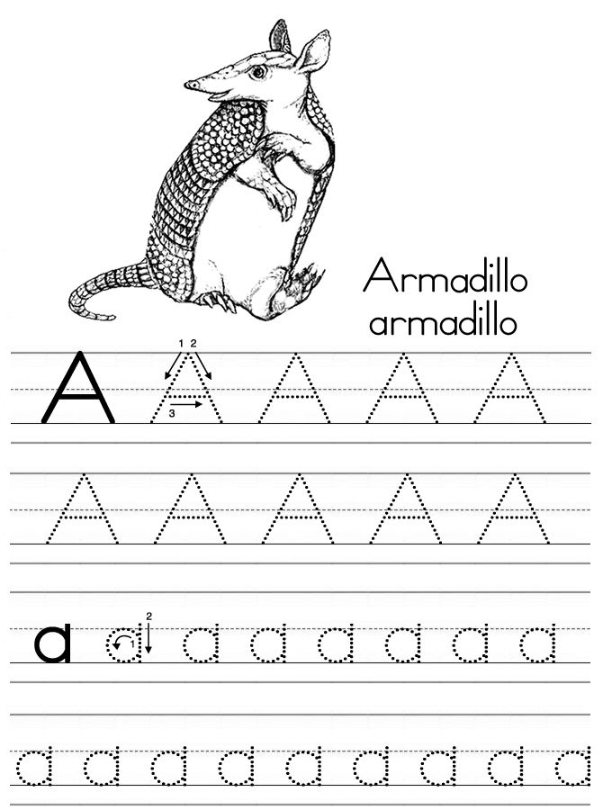 alphabet tracing pages 2