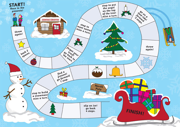 christmas activities for kids boardgame