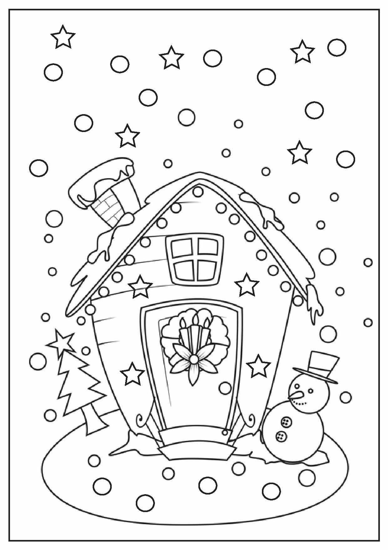 christmas activities for kids coloring