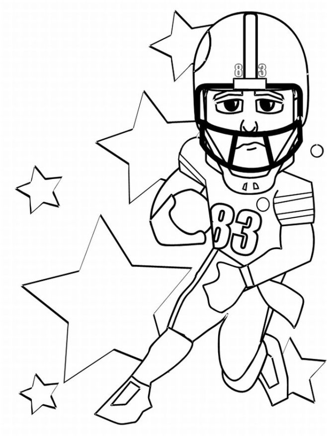 football coloring pages 5