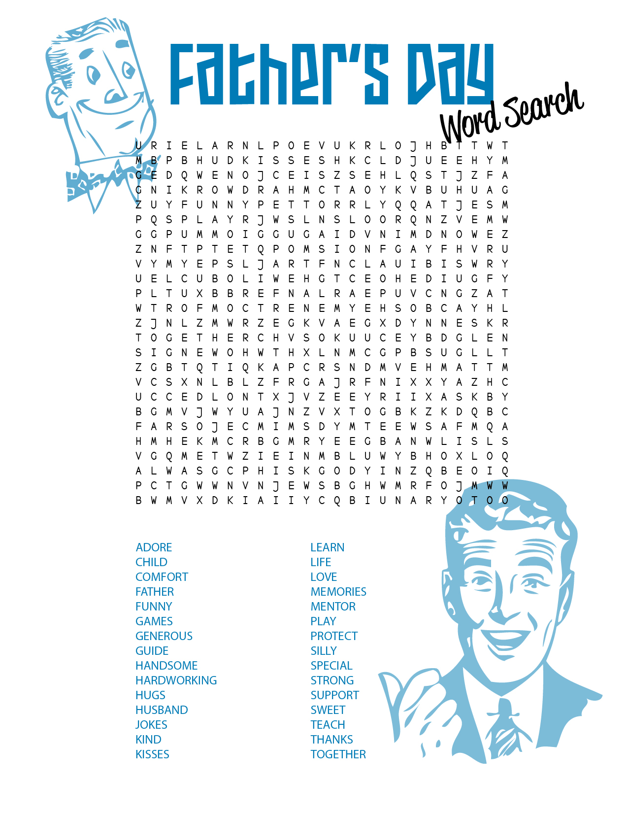 free printable word searches 4