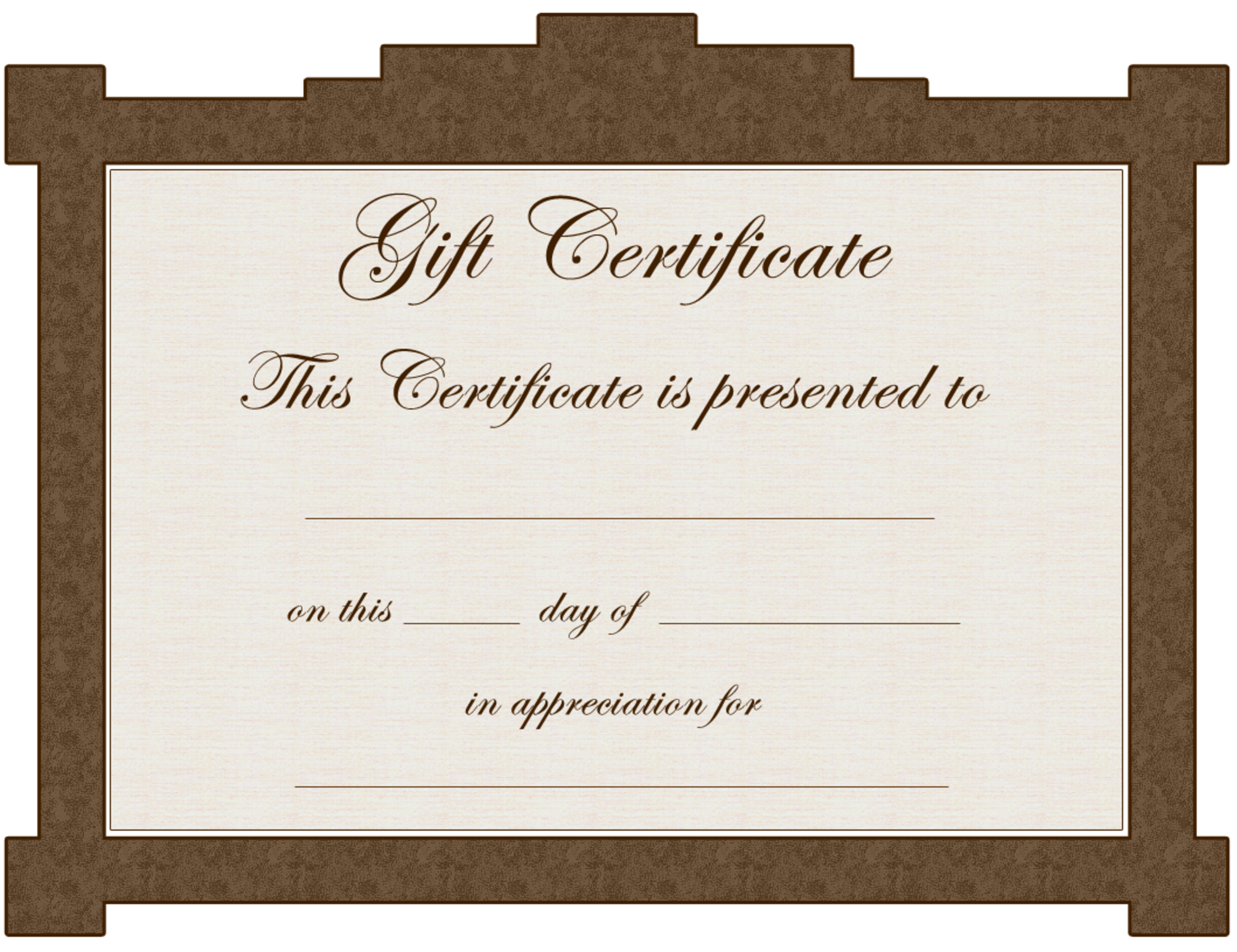 gift certificate template 5