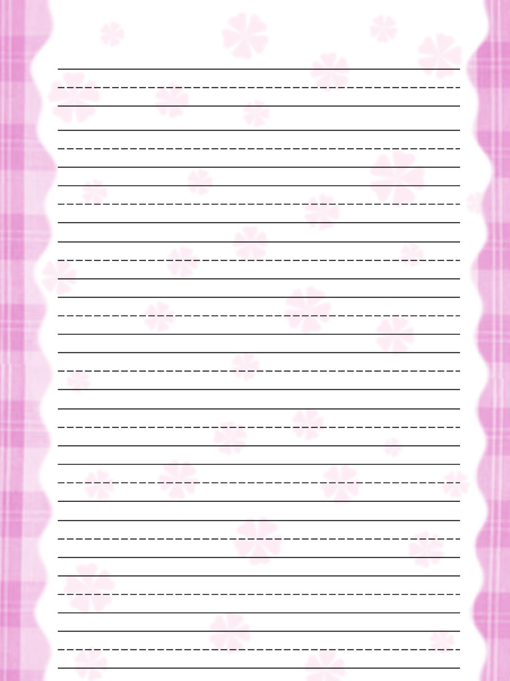 lined paper for kids 5