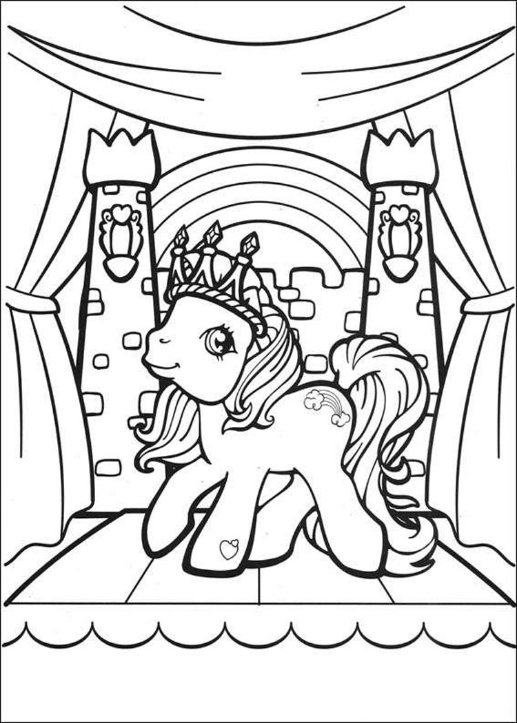 my little pony coloring pages 1