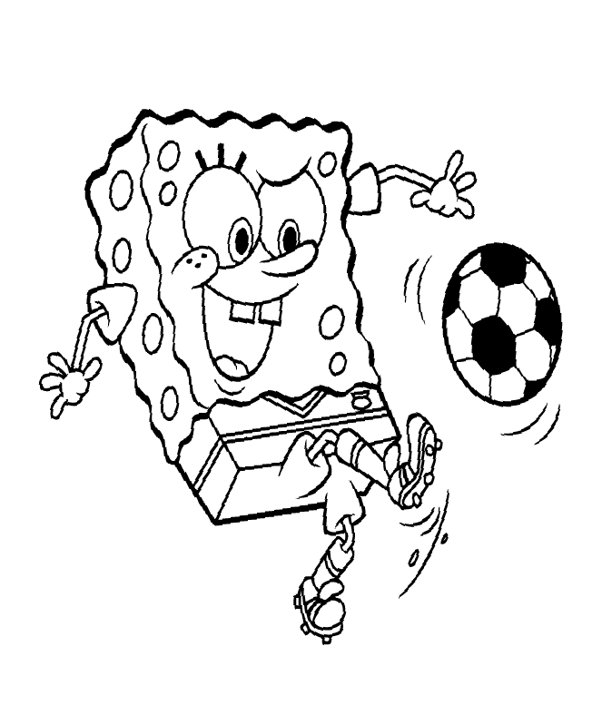 spongebob coloring pages 4