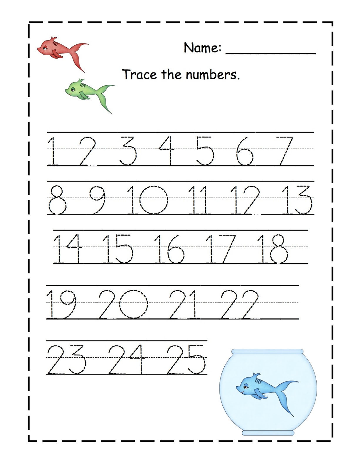 traceable numbers 1-10 2