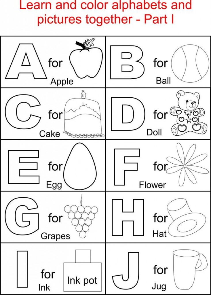 ABC Printables coloring