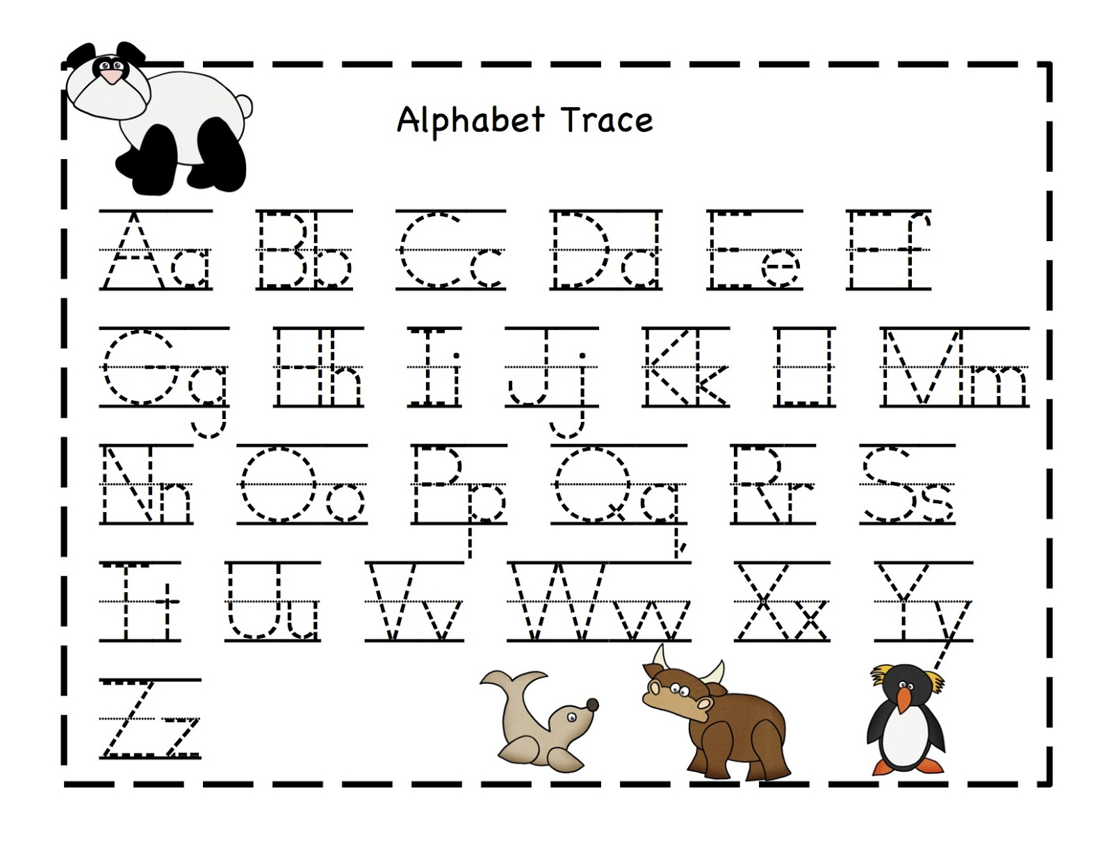 Alphabet Printables Sheets 5