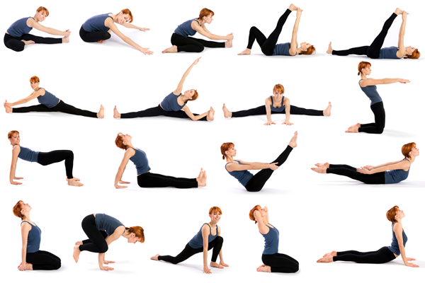 Asanas Yoga for Beginners 5