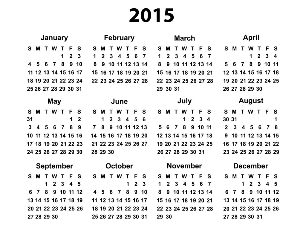 Calendar 2015 for Your Office 3