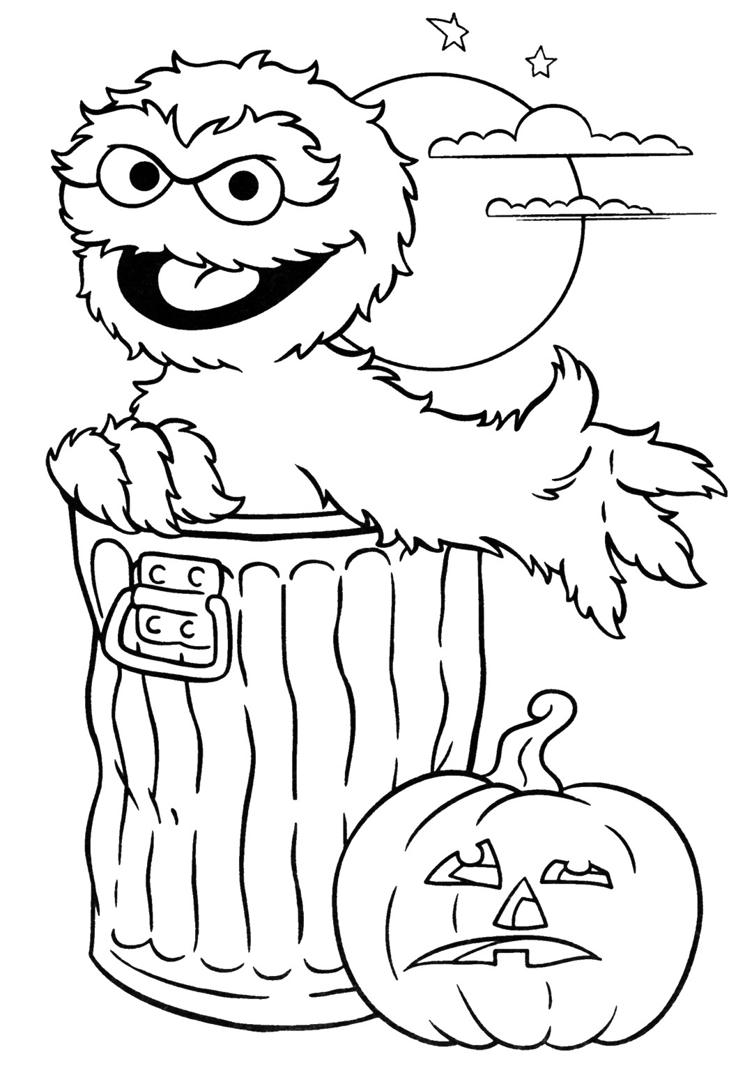 Coloring Pages Printable Halloween 5