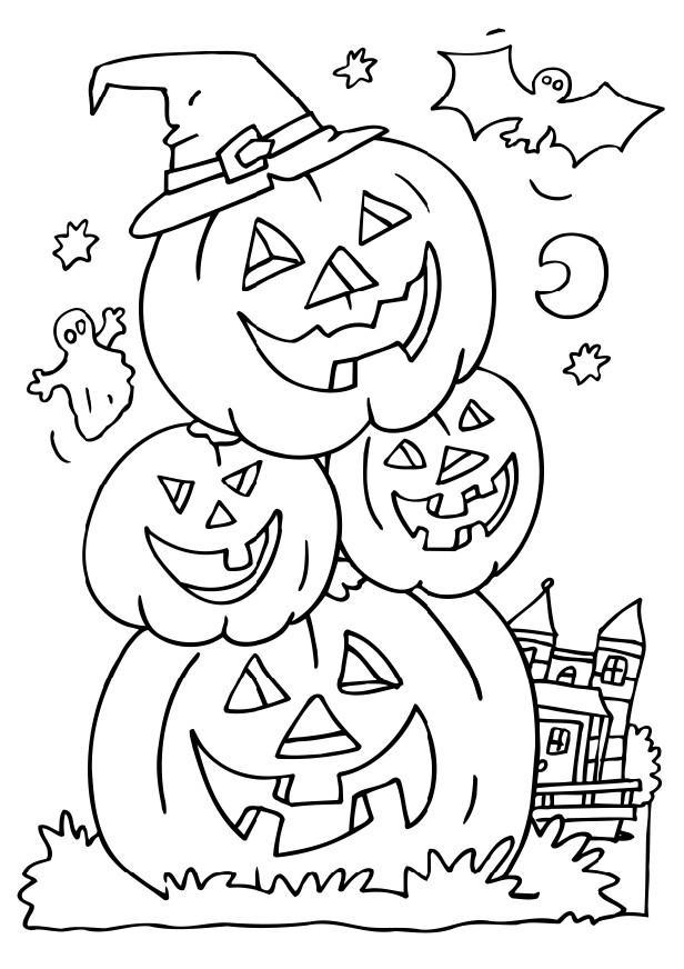 Coloring Pages Printable Halloween 6