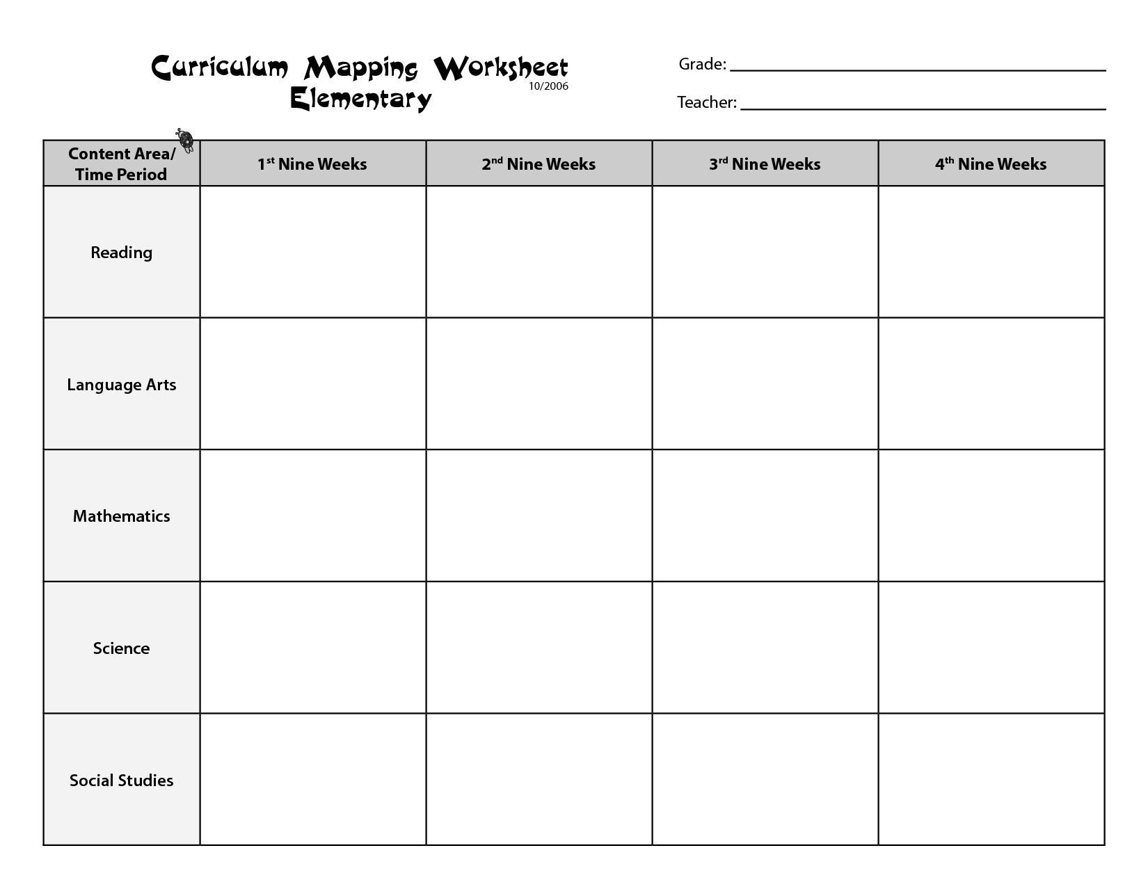 Free Printables for Teachers 5