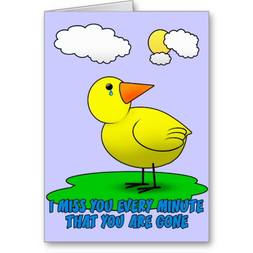 I Miss You Cards for Kids 4