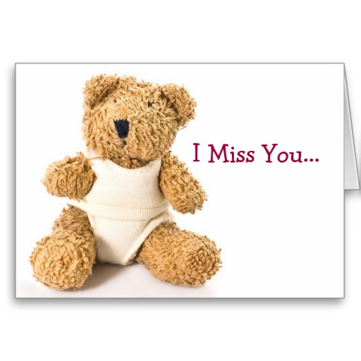 I Miss You Cards for Kids 5