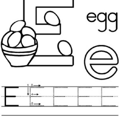 Preschool Alphabet Worksheets 2