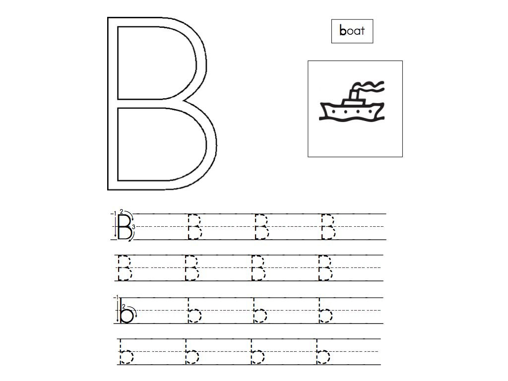 Preschool Alphabet Worksheets 4
