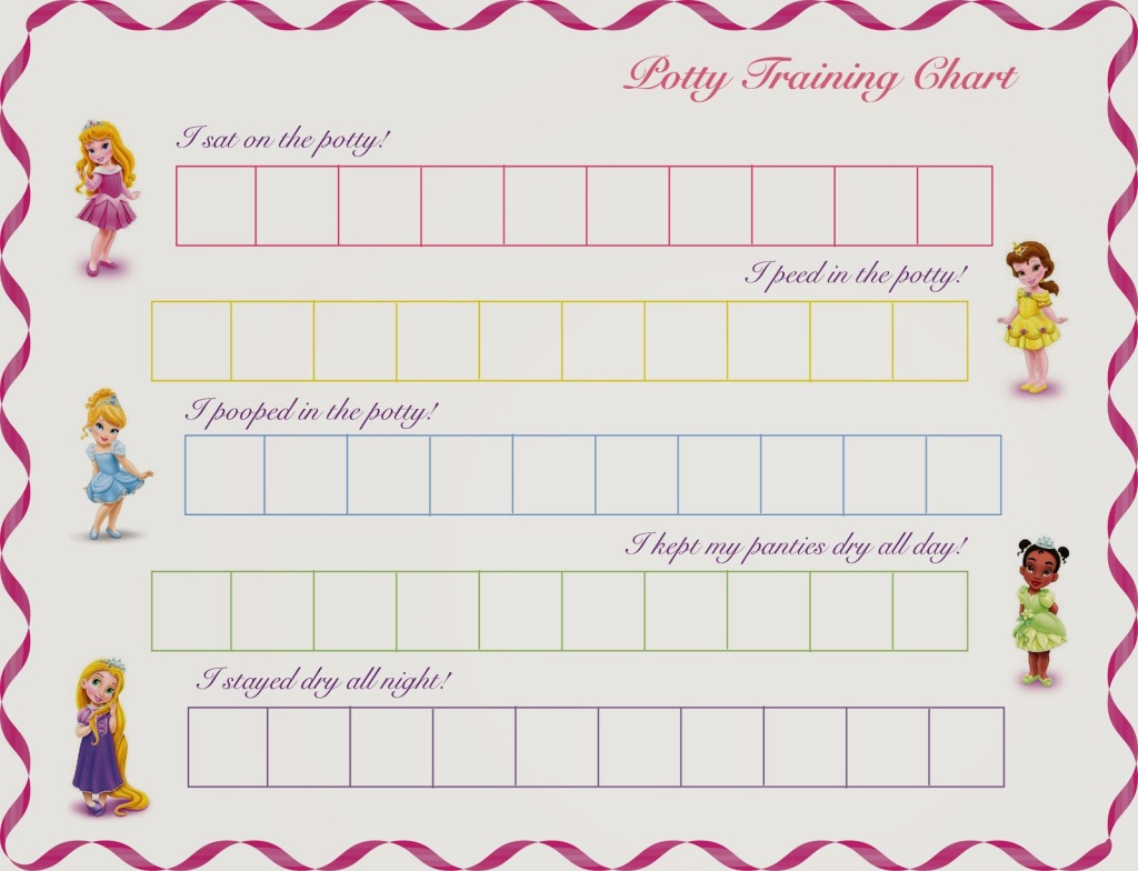 Printable Potty Chart 2