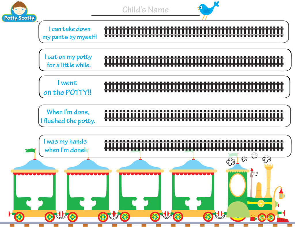 Printable Potty Chart 5