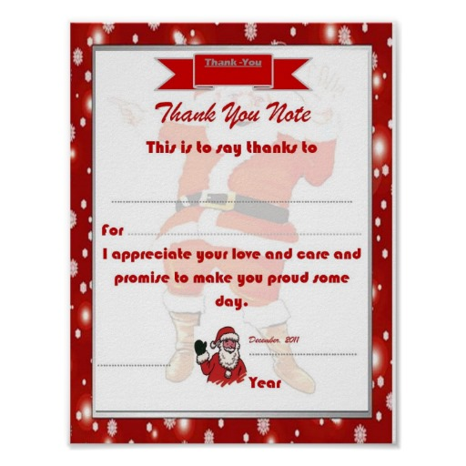 Thank You Note Templates 3