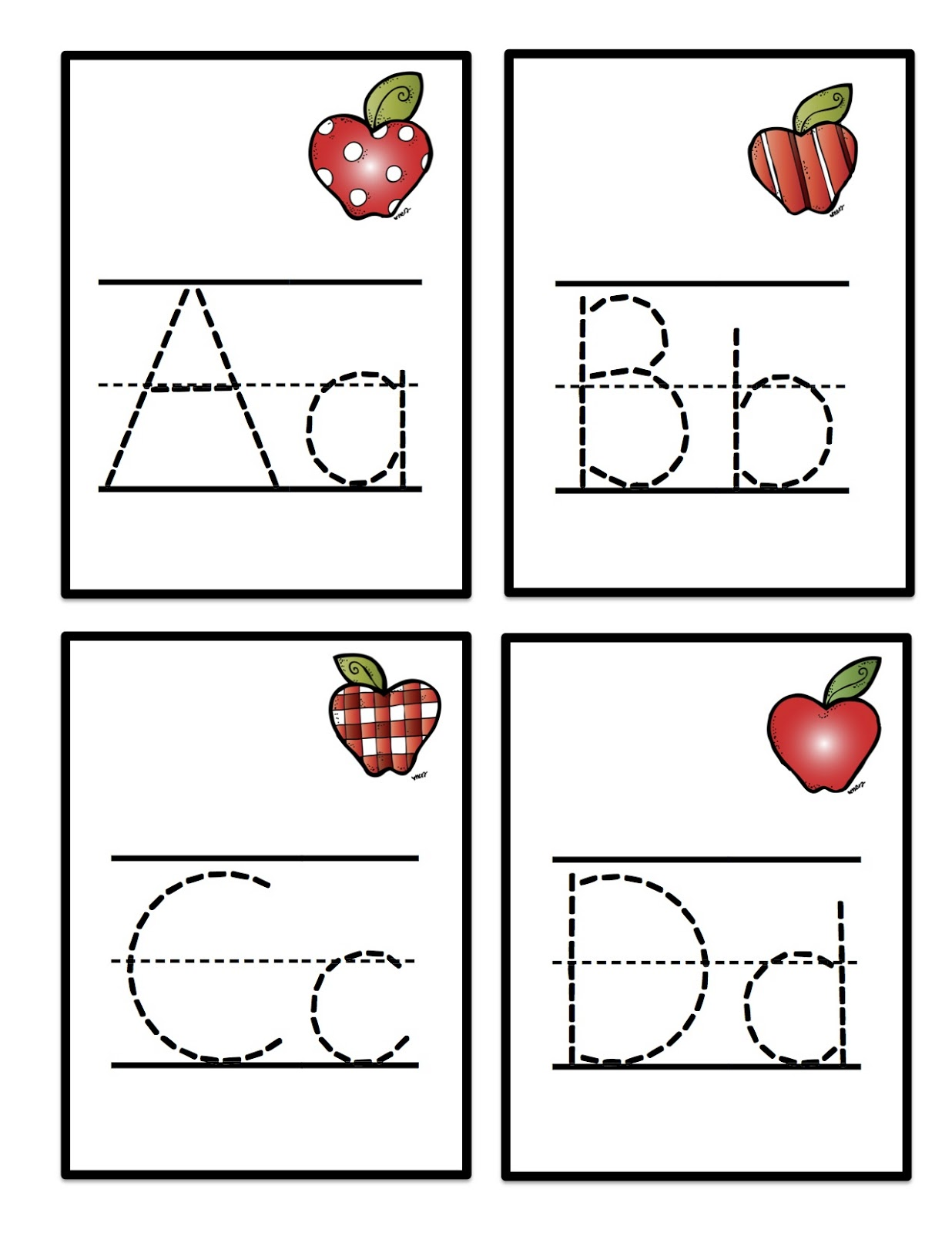 Alphabet Tracing | 101 Printable