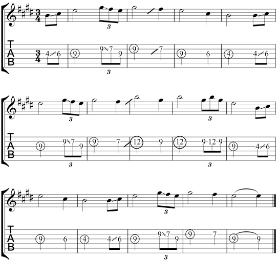guitar chords for amazing grace 3