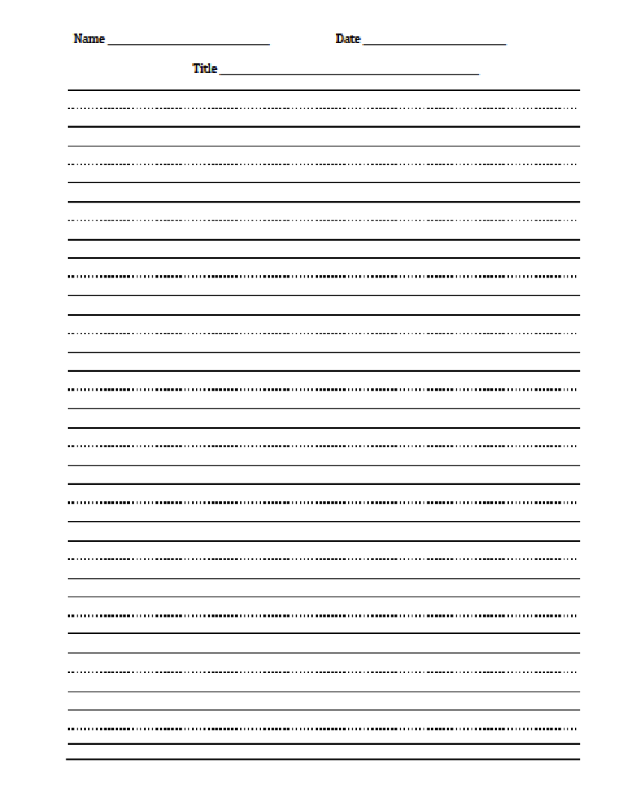 handwriting sheets for primary school 5