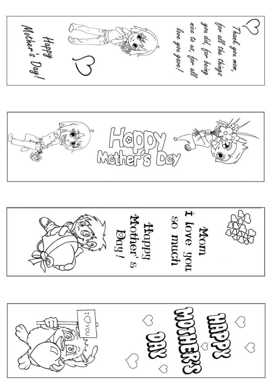 printable bookmarks to color 1