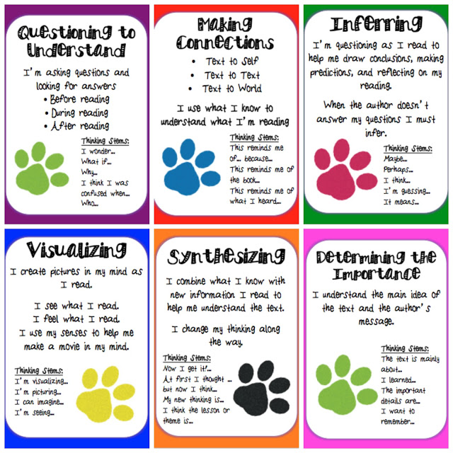 reading strategies poster 1