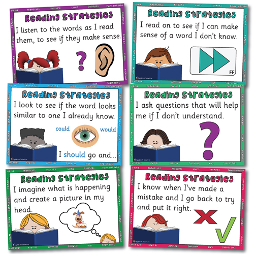 reading strategies poster 3