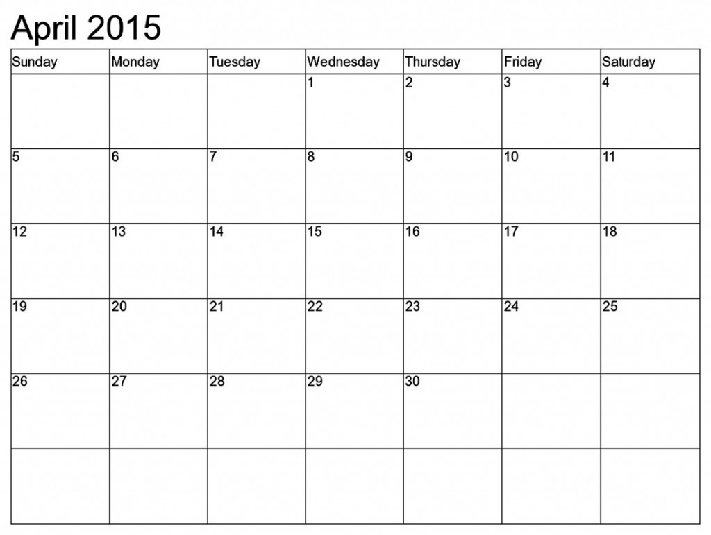 2015 monthly calendar printable 4