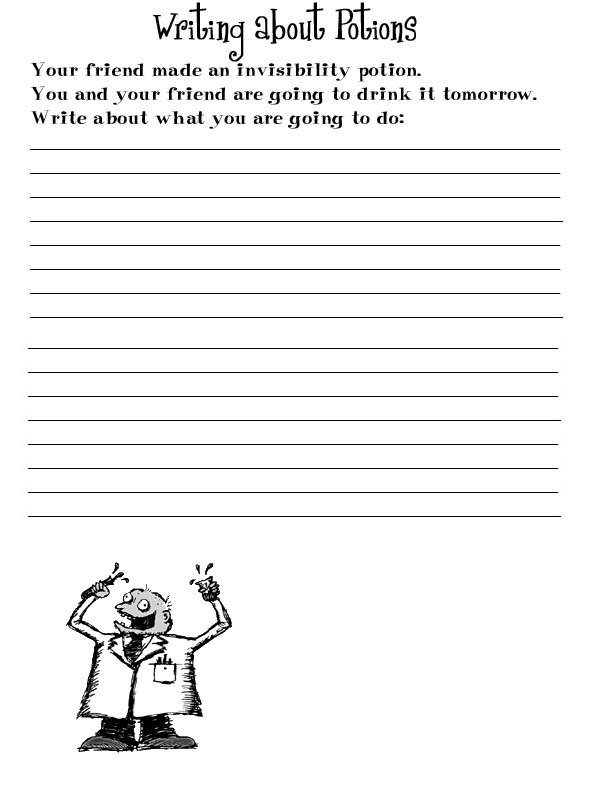Free Handwriting Worksheets for Kids 4