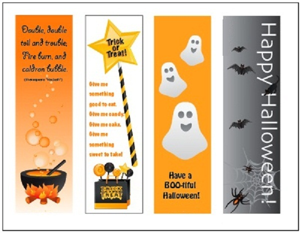 Printable Bookmarks for Kids 7