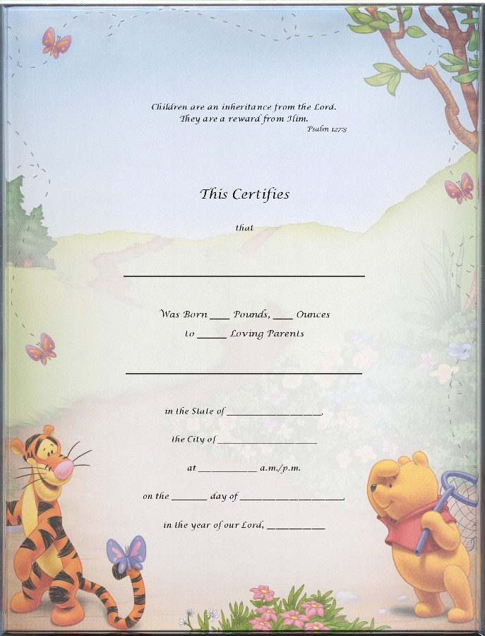 Blank Certificate Templates for Kids