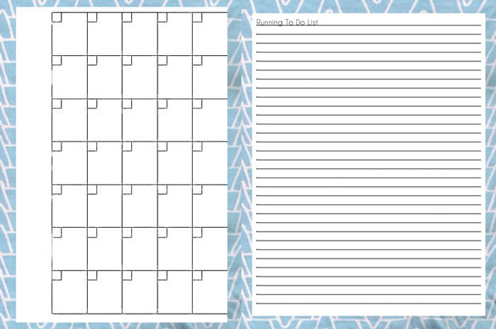Free Printable Planner Pages To Do List