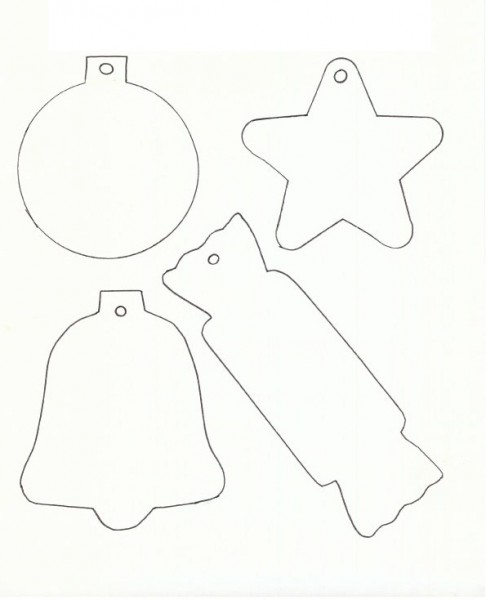 Free Printable Templates Christmas Coloring Crafts