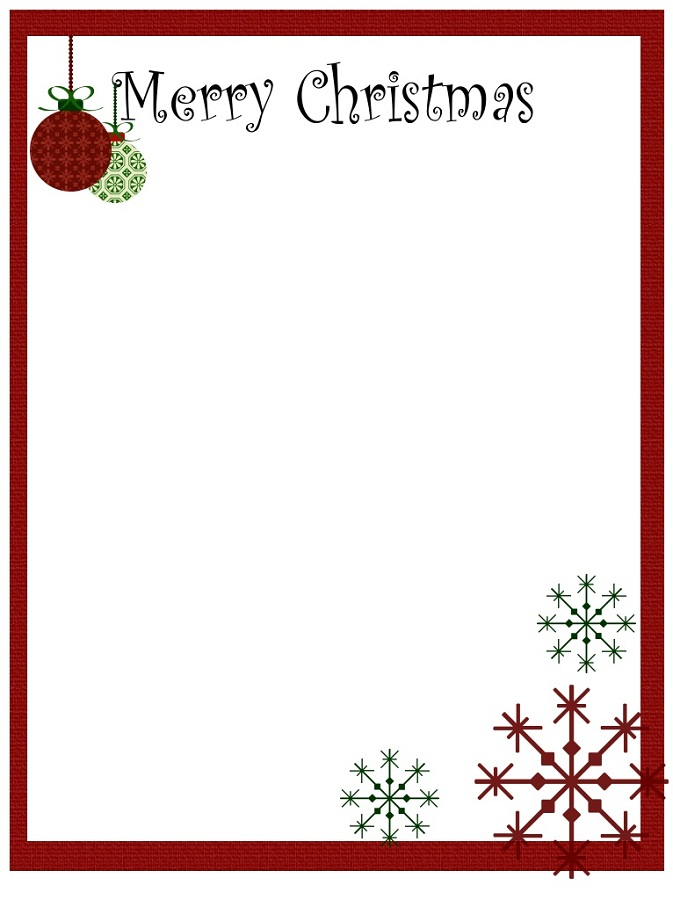 Free Printable Templates Christmas Notes