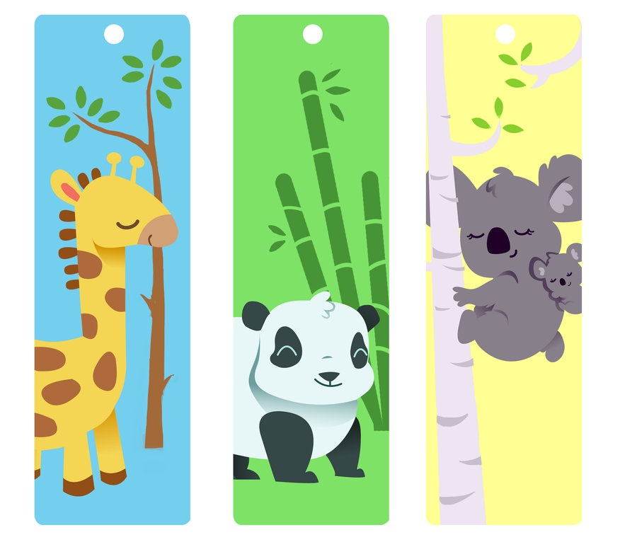 Cute Bookmarks for Kids Printable
