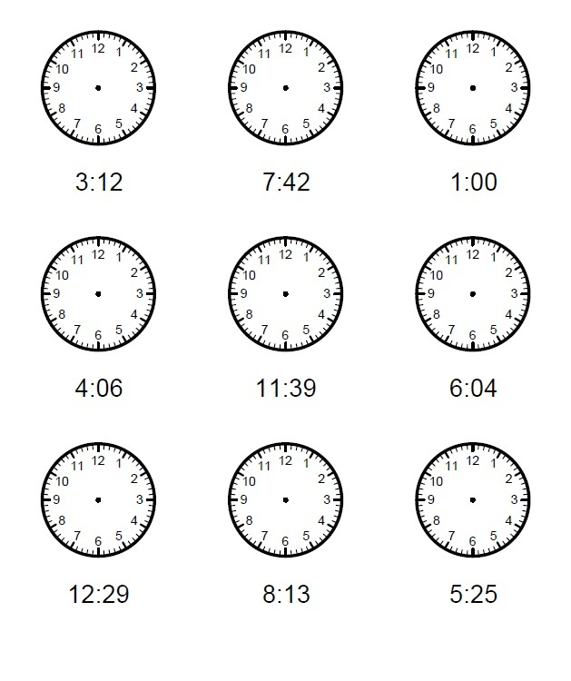 Elapsed Time Worksheets Practice
