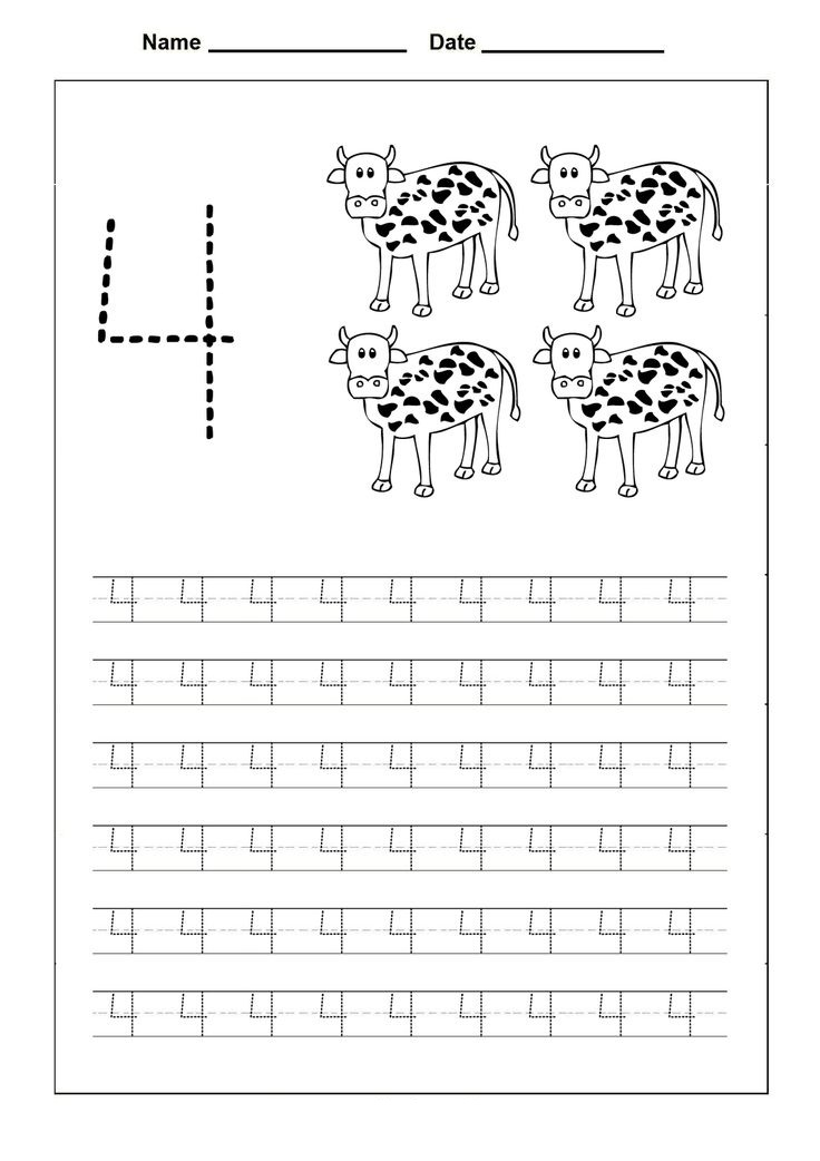Number Trace Worksheets | 101 Printable