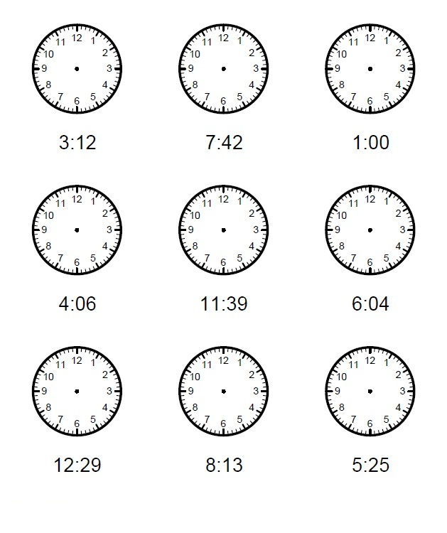 Free Elapsed Time Worksheets Printable