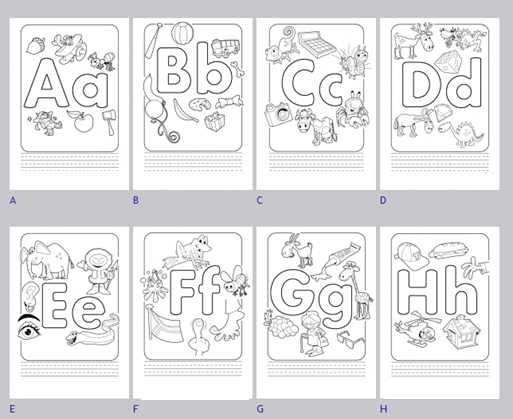 Worksheets for 4 Year Olds ABC