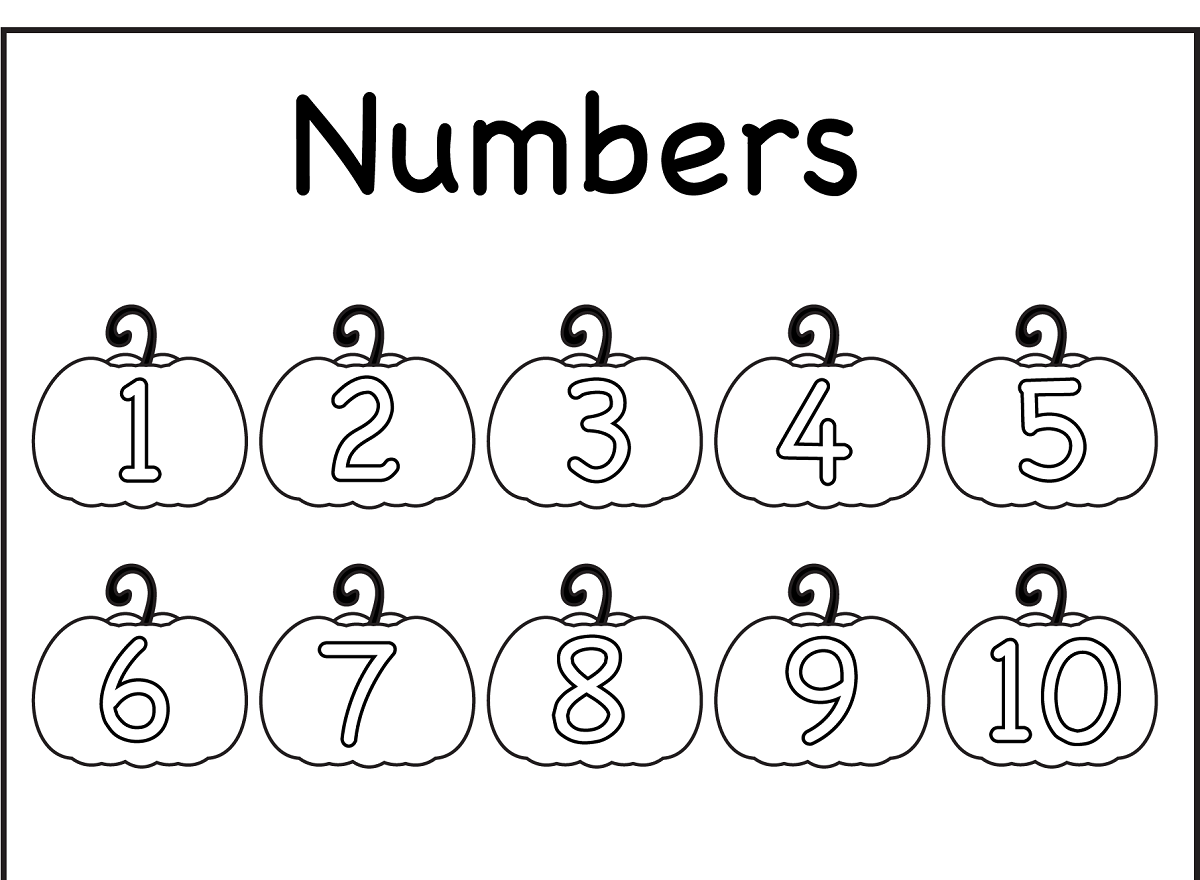 color by shape worksheet numbers