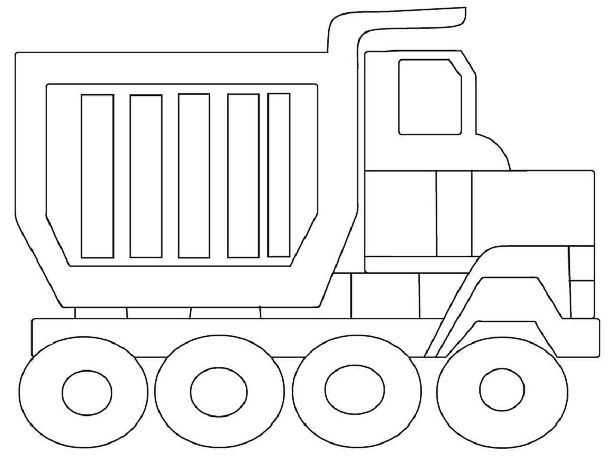 dump truck pictures for kids 1