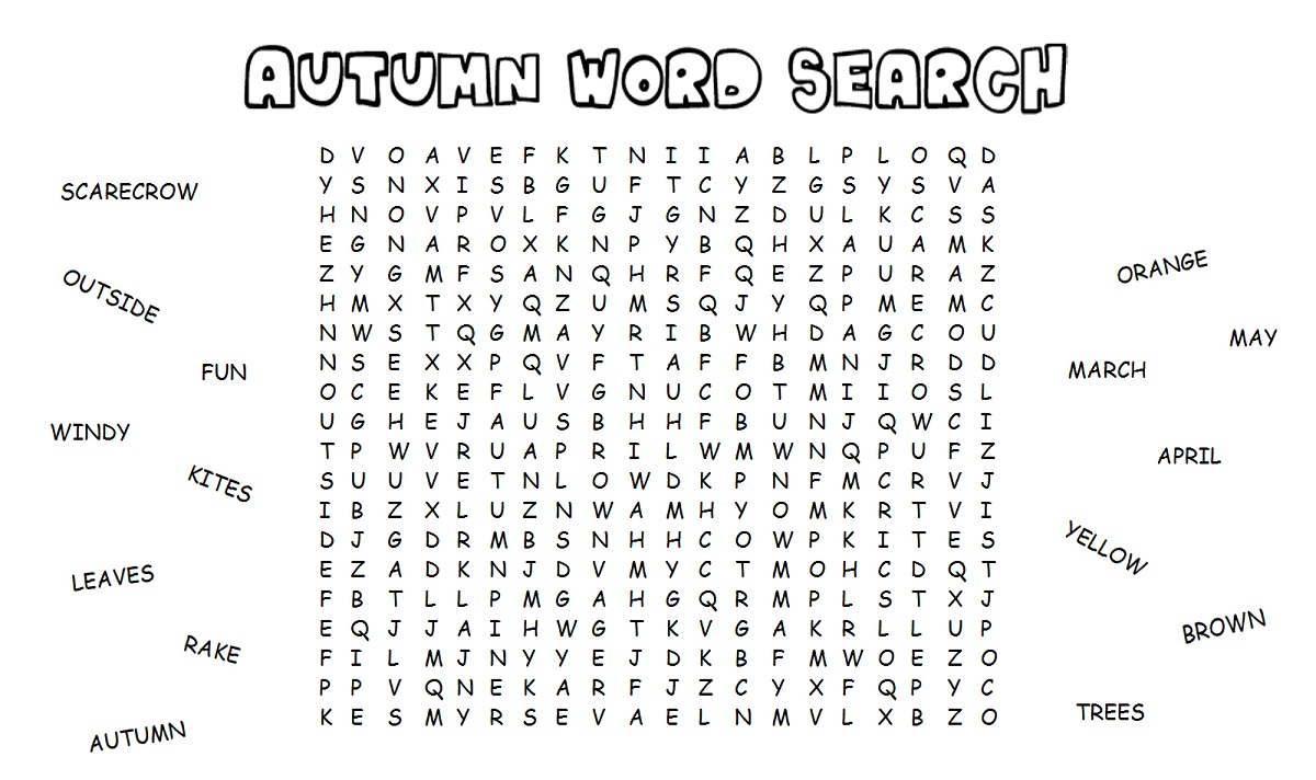 easy word search 1