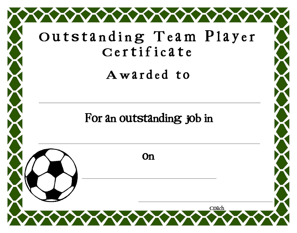 soccer award certificates 2