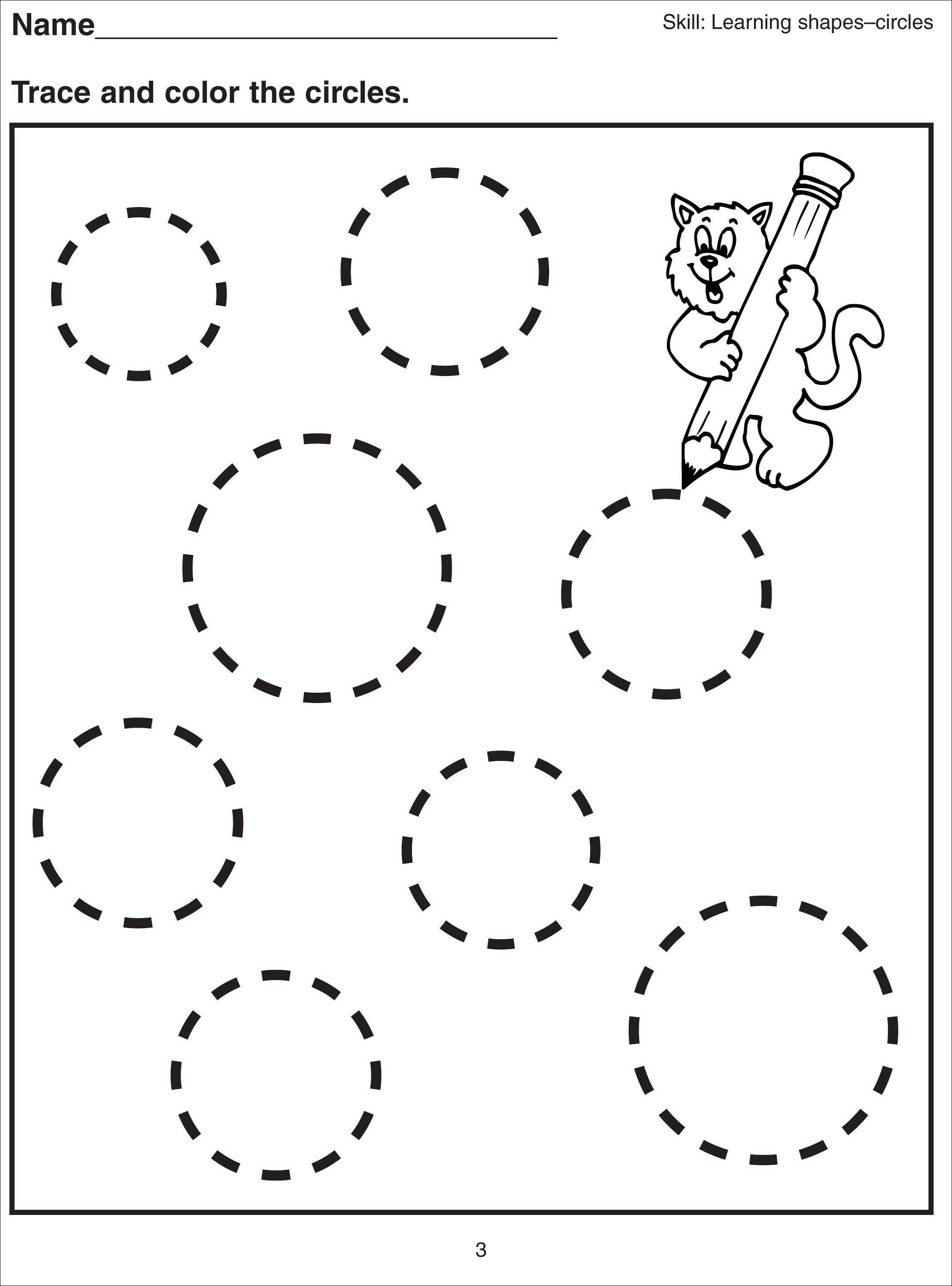 basic-shapes-worksheets-circle